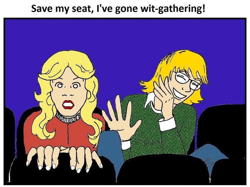Save my seat again!